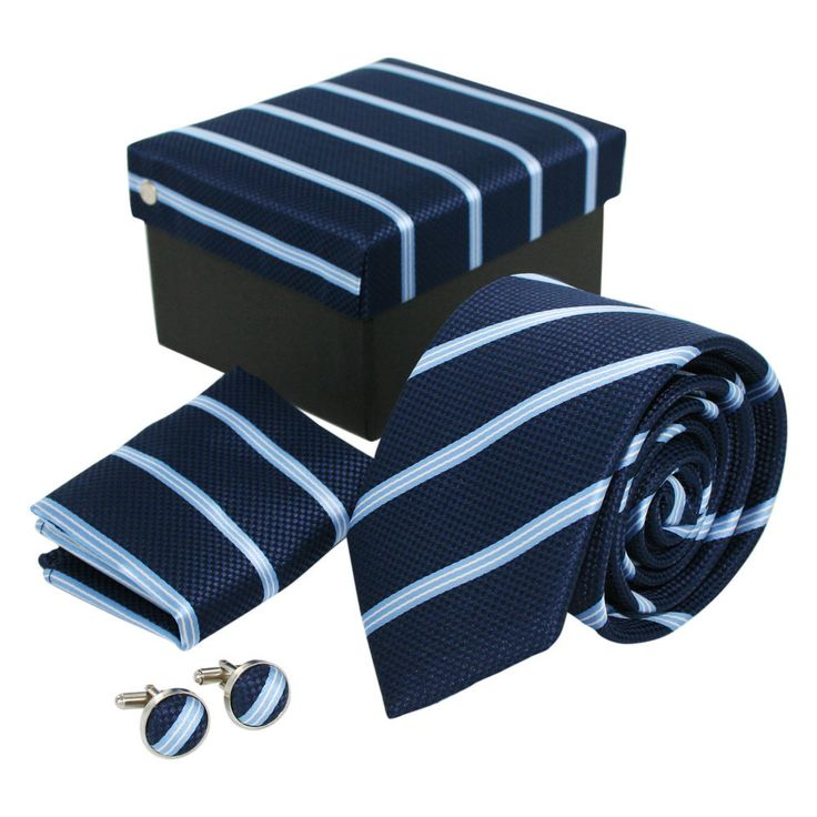 Navy and Sky Blue Gift Set