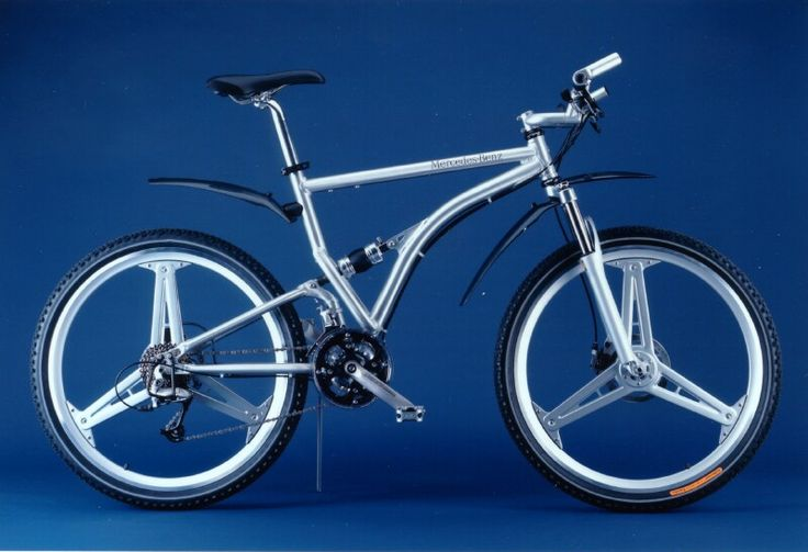11 best cool folding bike designs images on pinterest for Mercedes benz mountain bike
