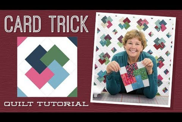 Card Trick Quilt Block From Our Free Quilt Block Pattern Library Quilt Block Patterns Free Quilt Block Tutorial Quilt Blocks