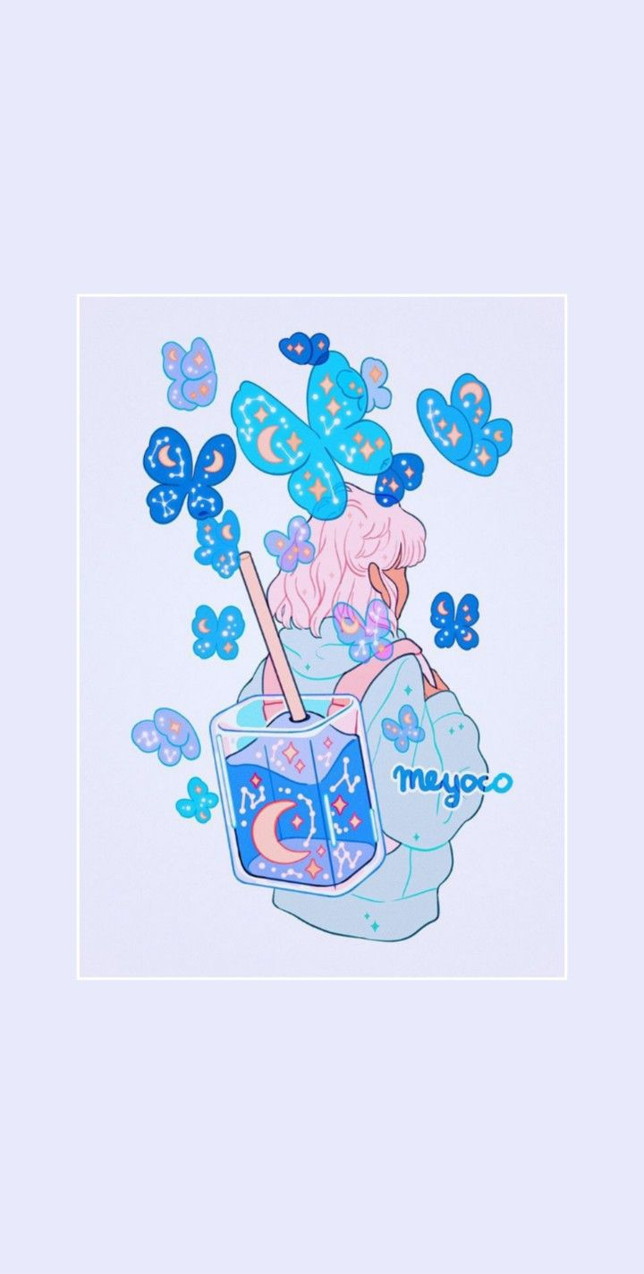 Nectar By Meyoco Cute Tumblr Wallpaper Cute Cartoon Wallpapers Kawaii Wallpaper