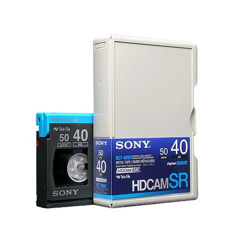 SONY HDCAM SR - standardul pentru imagine cu maxima definitie, plecare pentru prelucrari ulterioare, salvare original in arhiva.