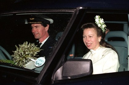 Princess Anne and Commander Tim Laurence: 12 December 1992