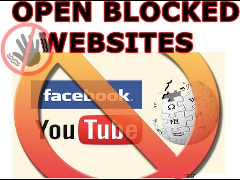 How to open blocked sites blocked by your country | How to open blocked ...