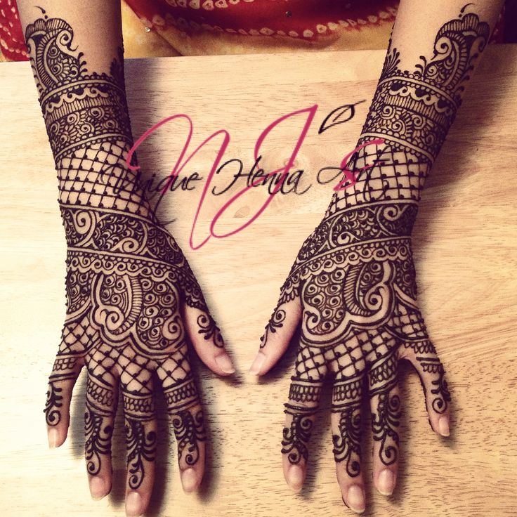 Traditional Mehndi Designs Bridal : Traditional indian bridal henna � nj s unique