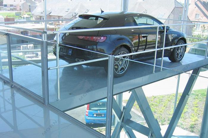 car scissor lift provide a efficient access in different levels. Capacity ranges from 2.0t to 5.5t. Pls call us or email directly: mornf@sinicmech.com  (http://www.sinolifter.com/stationary-scissor-lift/5t-car-lift-for-home-garage.html)