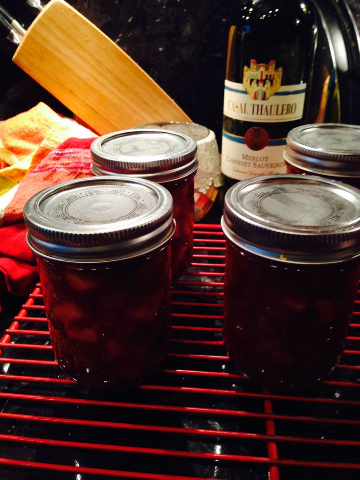 Cranberry Apple Pear Relish Preserve ready for the pantry.