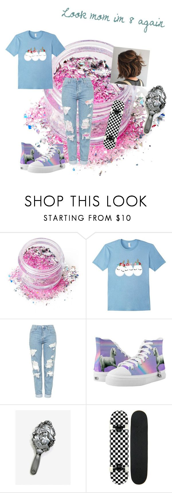 Unicorns Rule mom! by gaming97 on Polyvore featuring, Topshop and In Your Dreams