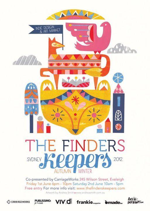 Finders Keepers Sydney Winter 2012 #illustration