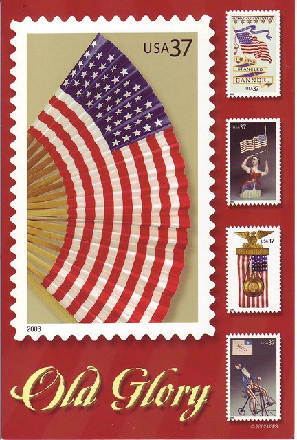 US Old Glory stamps issue