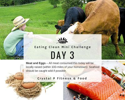 Day 3 - Eating Clean Mini Challenge