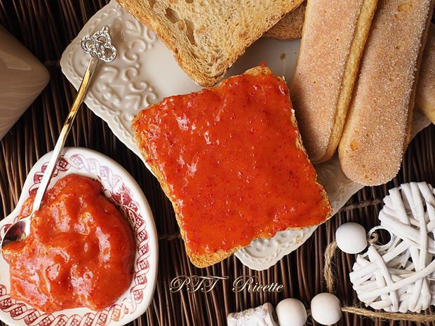 Confettura di corbezzoli fatta in casa! #confettura #corbezzoli #marmellata #fattaincasa #ricetta #recipe #italianfood #italianrecipe #PTTRicette