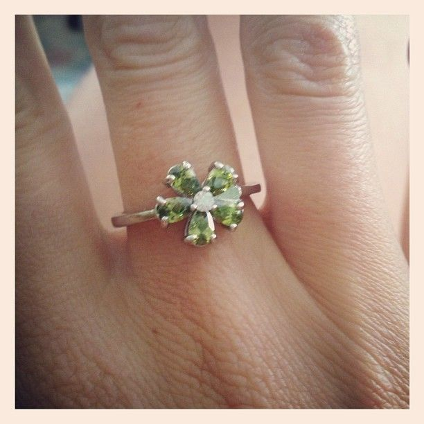 My diamond candle ring, my birthstone #birthstone #diamondcandles | Messybraids78 | Diamond Candles