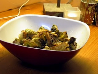 Roasted Brussel Sprouts with Balsamic Vinegar, Parmesan, and Pine Nuts ...