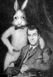 Jimmy Stewart & Harvey. | Hippity Hoppity | Pinterest ...