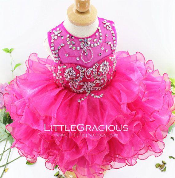 LittleGracious Pageant dress glitz Birthday by LittleGracious
