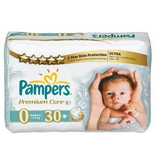 Prima Premium Care No:0 (2-5 Kg) 30 lu Prematüre Bebek Bezi :: Ballı Alışveriş