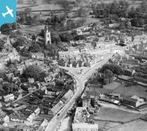 The Market Place and town centre, Swaffham, 1928