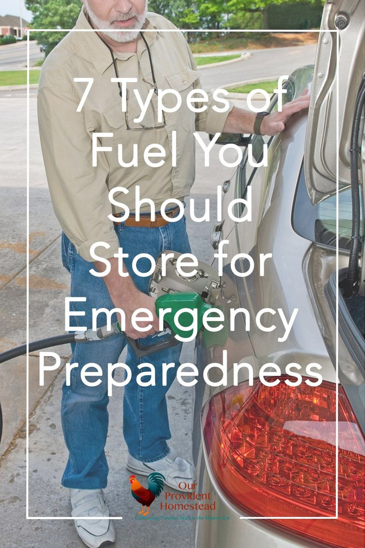 Are you worried about being prepared in an emergency situation? Click here to see how storing fuel should be high priority when planning your emergency preparedness. #emergencypreparedness #homesteading #prepper #survival #shtf #prepperbeginner