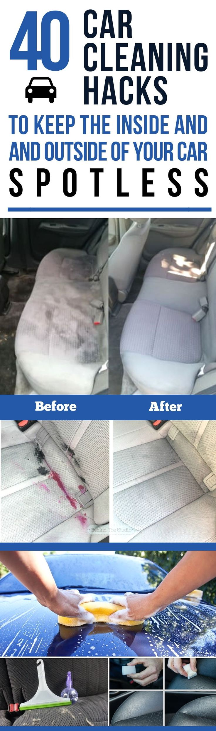 35+ Little-Known Car Cleaning Hacks To Keep The Inside And Outside Of Your Car Spotless