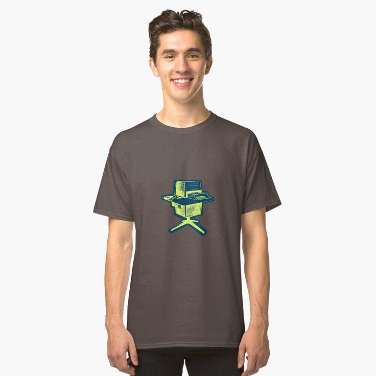 Retro computer terminal classic tshirt by