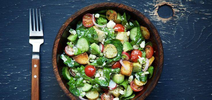 Arugula Salad with Gorgonzola Vinaigrette