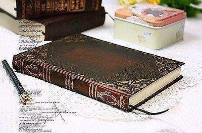 "Vintage Classic Notebook Blank Diary Journal Single Line Retro Notebook 6"" x 4""   eBay"