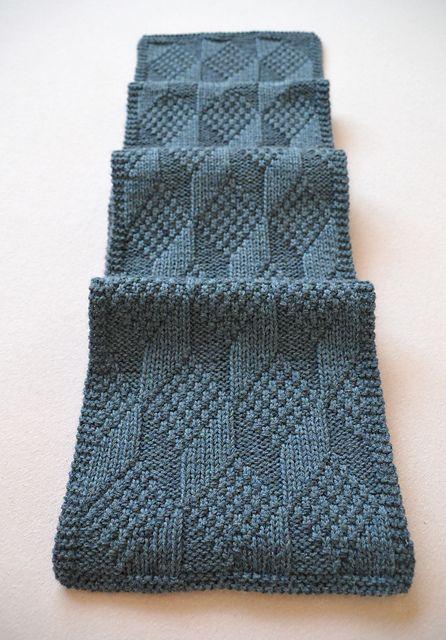 Ravelry Carmela Biscuit S Asherton Reversible Scarf Knit On