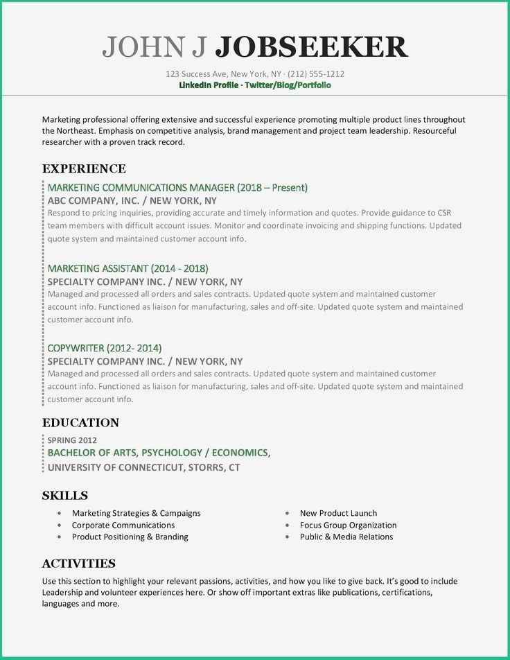 Resume For Marketing Resume For Sales Resume For Word Mac Pc Cover Letter Professional Resume Professional Resume Examples Resume Examples Resume Skills