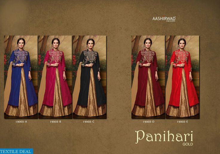 PRODUCT CODE: AASHIRWAD PANIHARI GOLD WHOLESALE FUNCTION WEAR ETHNIC SUITS SUPPLIER Catalog pieces: 5 Full Catalog Price: 7475 Price Per piece: 1495 MOQ: Full catalog  VISITE OUR WEBSITE- http://webfab.in/wholesale-product/Salwar-Suits/aashirwad-panihari-gold-wholesale-function-wear-ethnic-suits-supplier-aashirwad-panihari-gold-full-catalog-set  FOR ORDER OR ANY QUERY CONTACT/WHATSAPP ON THIS NUMBER -097127-85867..