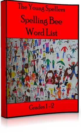 Young Spellers Spelling Bee Word List: Perfect for first and second grade spelling bees!