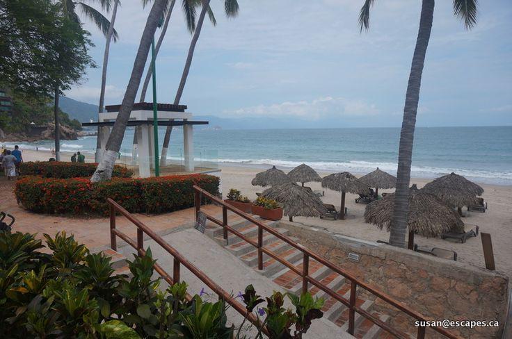 Hyatt Ziva Vallarta, stunning beach front gazebo seats at least 50 wedding guests