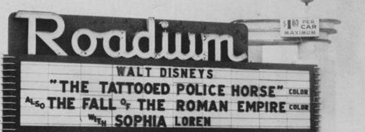 Roadium Drive-In Theater, Torrance California