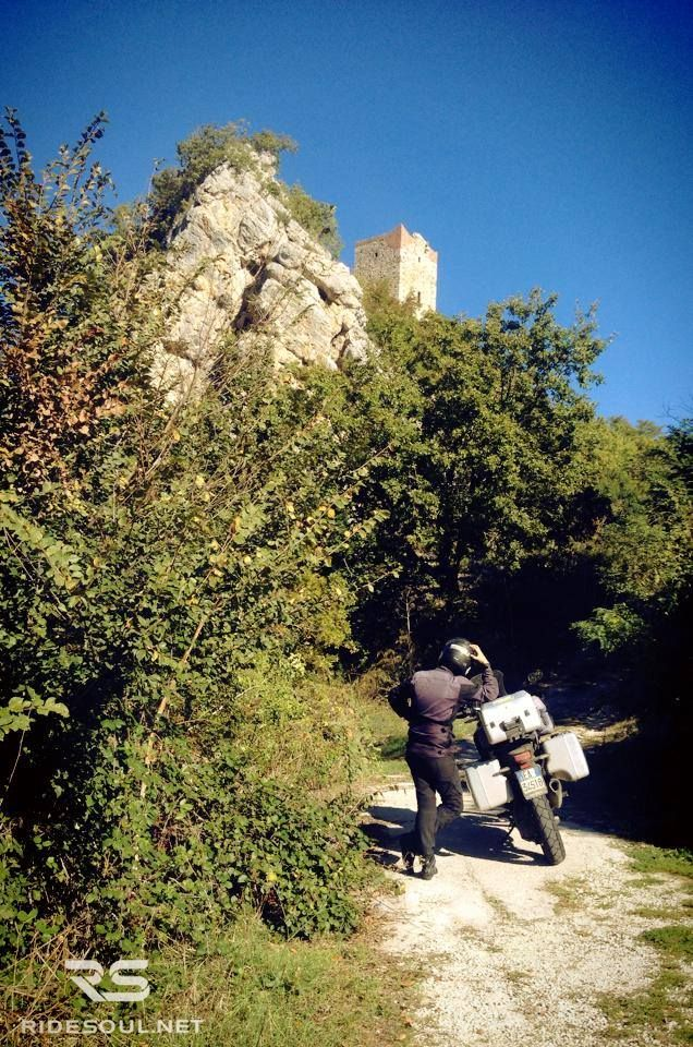 The bandit's tower! #motorcycle #tour #italy