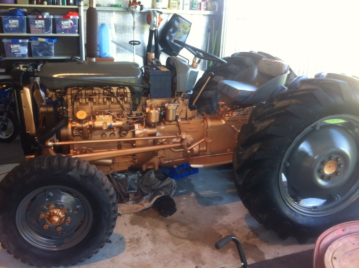 Ferguson Fe35 Gold Belly Tractor Nearing Completion