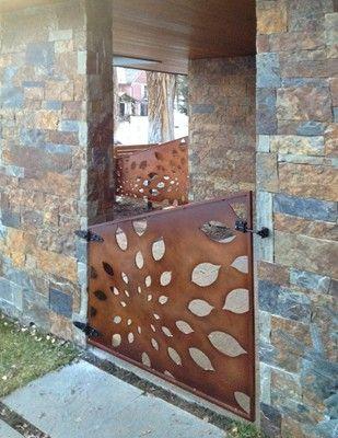 Metal dutch door would make a spectacular garden gate!