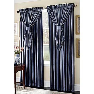 Somerset Window Treatments From Midnight Velvet®   Love This Color Blue For  Guest Bedroom