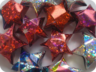 17 best images about lucky stars on pinterest jars for Diy lucky stars