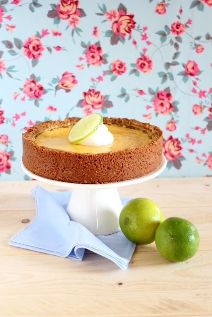 Torta di lime - Key lime pie - haven't tasted it, but my mouth is watering.
