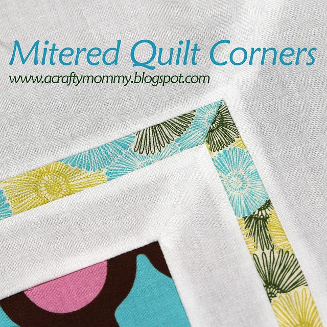 1000+ Images About Miter Corners... Quilt On Pinterest