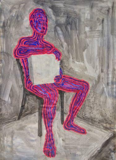 "Saatchi Art Artist Boboc Mihai; Painting, ""Motion in the resting"" #art"