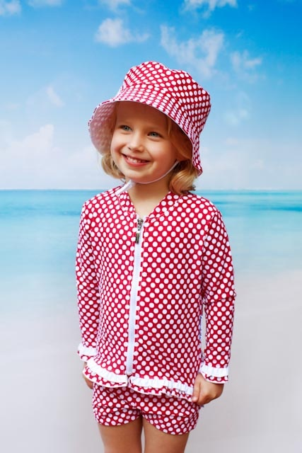 Swimwear for the little girls! Babes in the Shade! Fantastic range with beautiful designs ... Love it!