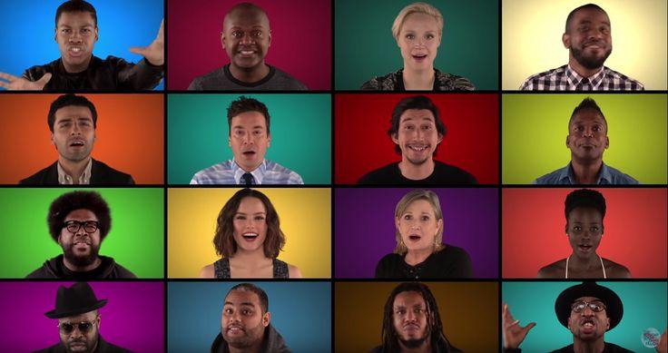 Jimmy Fallon reúne al elenco de Star Wars y cantan a capela | Soy502