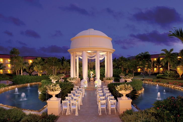 The Dream Punta Cana Resort Wedding Gazebo....not sure if I want to be married here or on the beach....hmmmm