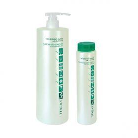 ING Nourishing Mask (Θρεπτική Μάσκα) 250ml Η θρεπτική μάσκα μαλλιών της ING έχει ισχυρή επανορθωτική δράση χάρις στα υψηλής ποιότητας συστατικά που περιέχει. Έχει χαμηλό PH (3,5) και κλείνει τα λέπια της τρίχας επαναφέροντας την στην φυσιολογική της κατάσταση, έτσι τα μαλλιά ξαναβρίσκουν την φυσική τους απαλότητα και λάμψη. Λόγω του όξινου PH της είναι ιδανική για τον λουτήρα και για χρήση μετά από τεχνικές εργασίες!ΑΝΑΛΥΤΙΚΑ στο www.femme-fatale.gr.Τιμή €6.00