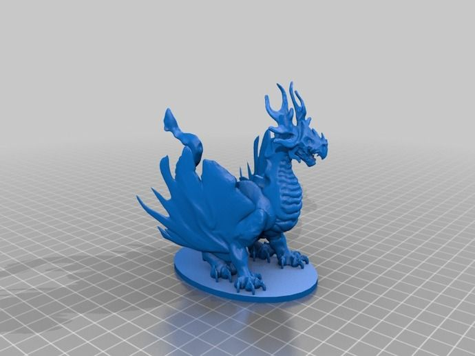 Forest Dragon by dutchmogul - Thingiverse