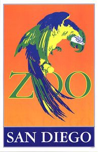 san diego zoo posters - Google Search