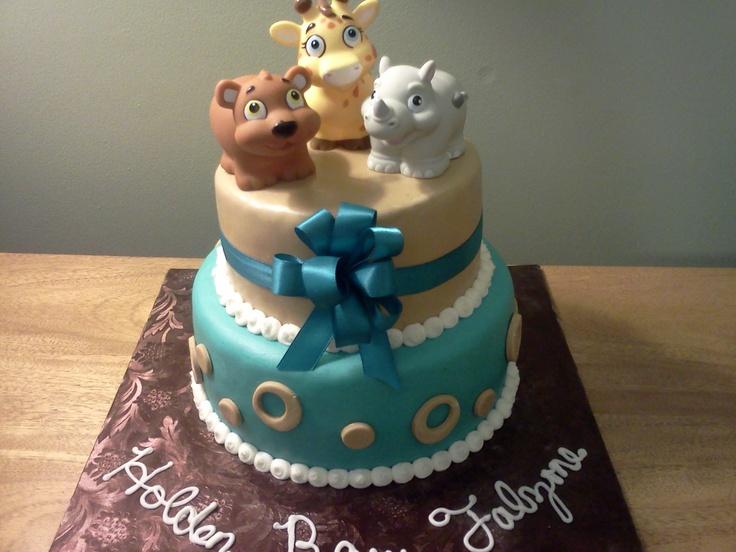 Baby shower cake garanimals uploaded with pinterest