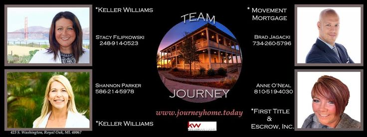 A full service real estate team servicing the Tri-County Detroit area in Michigan as well as North Bay in California!
