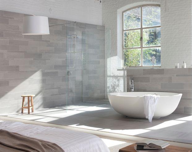 Badkamertegels Natuurtinten : Badkamertegels natuurtinten