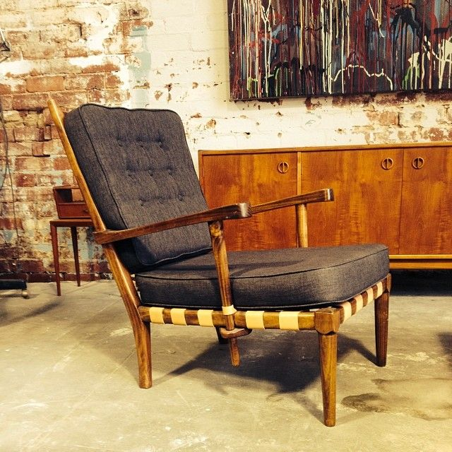 Gorgeous chair by Schulim Krimper . Very rare!!